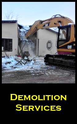 Demolition Services for the Twin Cities by Invision Services