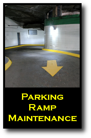 Parking Ramp Maintenance Services for the Twin Cities by Invision Services