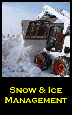 Snow and Ice Management Services for the Twin Cities by Invision Services
