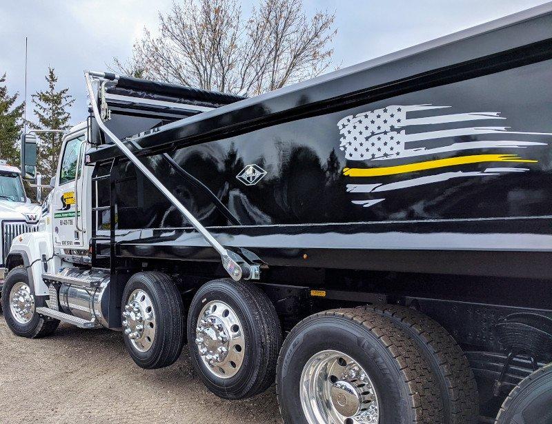 Quad and Quint Axle Dump Trucks