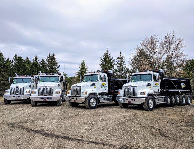 Trucking and Hauling Fleet